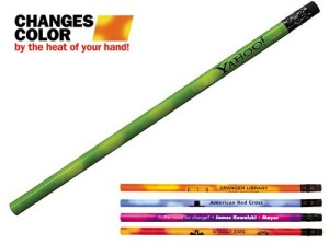 Custom Mood Pencils with Black Erasers