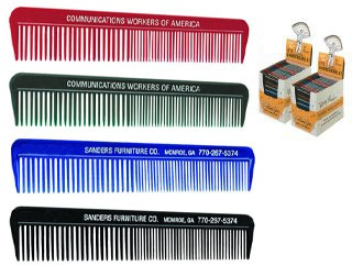 Custom Plastic Hair Combs