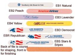 Personalized Emery Board