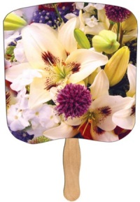 Lily Bouquet Heavy Duty Fan