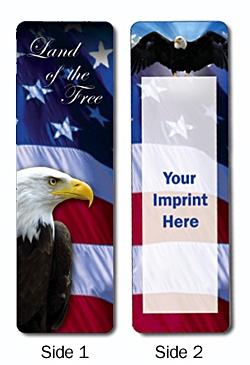 Political/Patriotic Wholesale Bookmarks