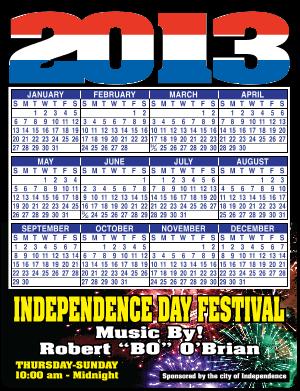 2017 Calendar Magnets