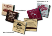 Personalized Custom Printed Matches - Personalized 30 Stick Matchbooks