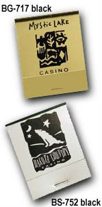 Personalized Matches - Custom Printed Foil Covered Matchbooks