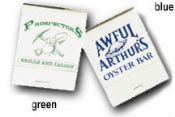 Personalized 20 Stick Matches with Custom Imprint