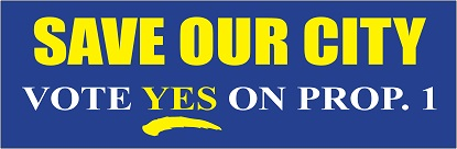 "11-1/2"" x 3-3/4"" Political Bumper Sticker with 2-Color Imprint"