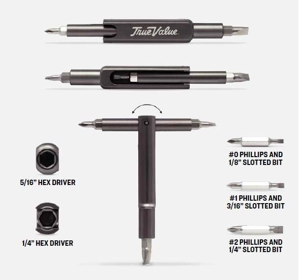 6 in 1 Multi Use Screwdriver