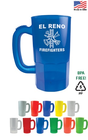 Personalized Plastic Steins