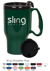 Roadster 16 oz Insulated Auto Travel Mug