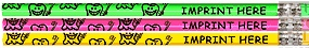 Smiley Tooth Pencil Design for Personalized Imprint