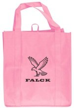 Pink Grocery Tote Bag