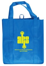 Royal Blue Grocery Tote Bag