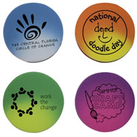 Circle Die Cut Mood Eraser