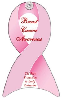 Breast Cancer Awareness Window Sign