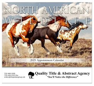 North American Wildlife 2020 Calendar