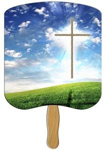 Cross Heavy Duty Church Fan
