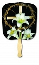 Easter Holiday Church Fan