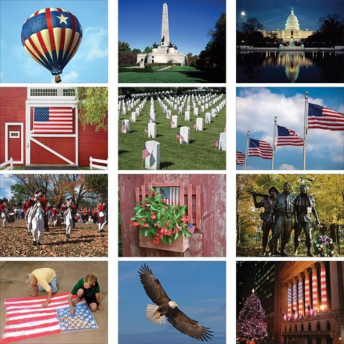 Monthly Scenes of America 2020 Calendar