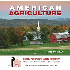 American Agriculture 2020 Calendar Cover