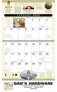 Old Farmers Almanac Everyday Advice 2020 Calendar