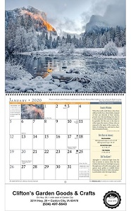 The Old Farmer's Almanac Country 2020 Calendar