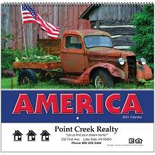Cover of America 2021 Calendar