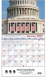 America 2021 Calendar