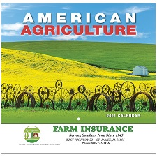 American Agriculture 2021 Calendar Cover