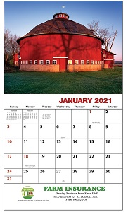 American Agriculture 2021 Calendar