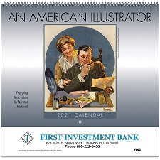 An American Illustrator 2021 Calendar Cover