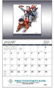 An American Illustrator 2021 Calendar