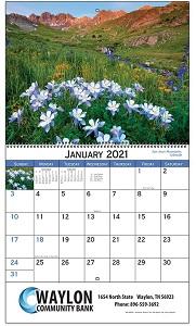 American Scenic 2021 Calendar