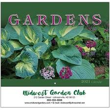 Gardens 2021 Calendar Cover