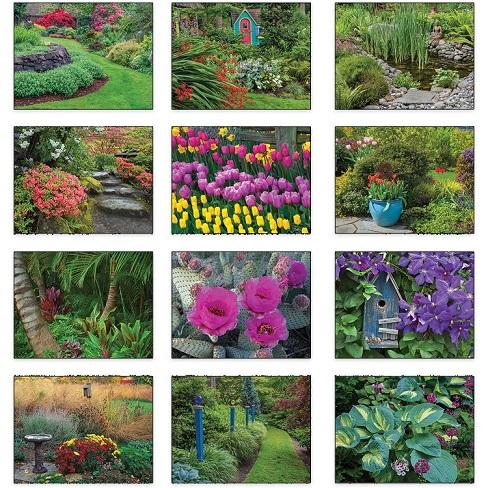 Gardens 2021 Calendar Monthly Scenes