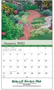 Gardens 2021 Calendar