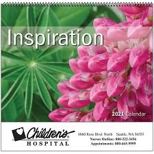 Inspiration 2021 Calendar Cover