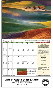 The Old Farmer's Almanac Country 2021 Calendar