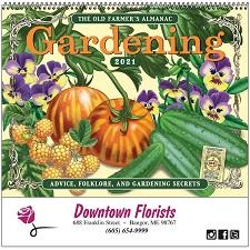 Old Farmers Almanac Gardening 2021 Calendar Cover