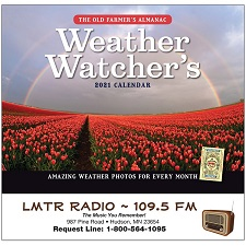 Old Farmers Almanac Weather Watchers 2021 Calendar Cover