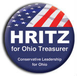 Two Color Round Custom Political Campaign Button - Wholesale prices