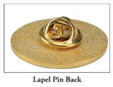 Lapel Pin Back