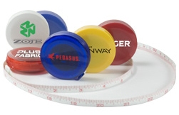 Promotional Tools - Mini Tape Measure with Custom Logo/Message
