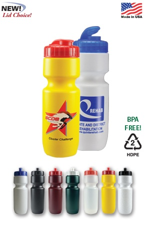 Sports Bottle with Flip Lid