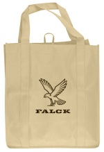 Khaki Grocery Tote Bag